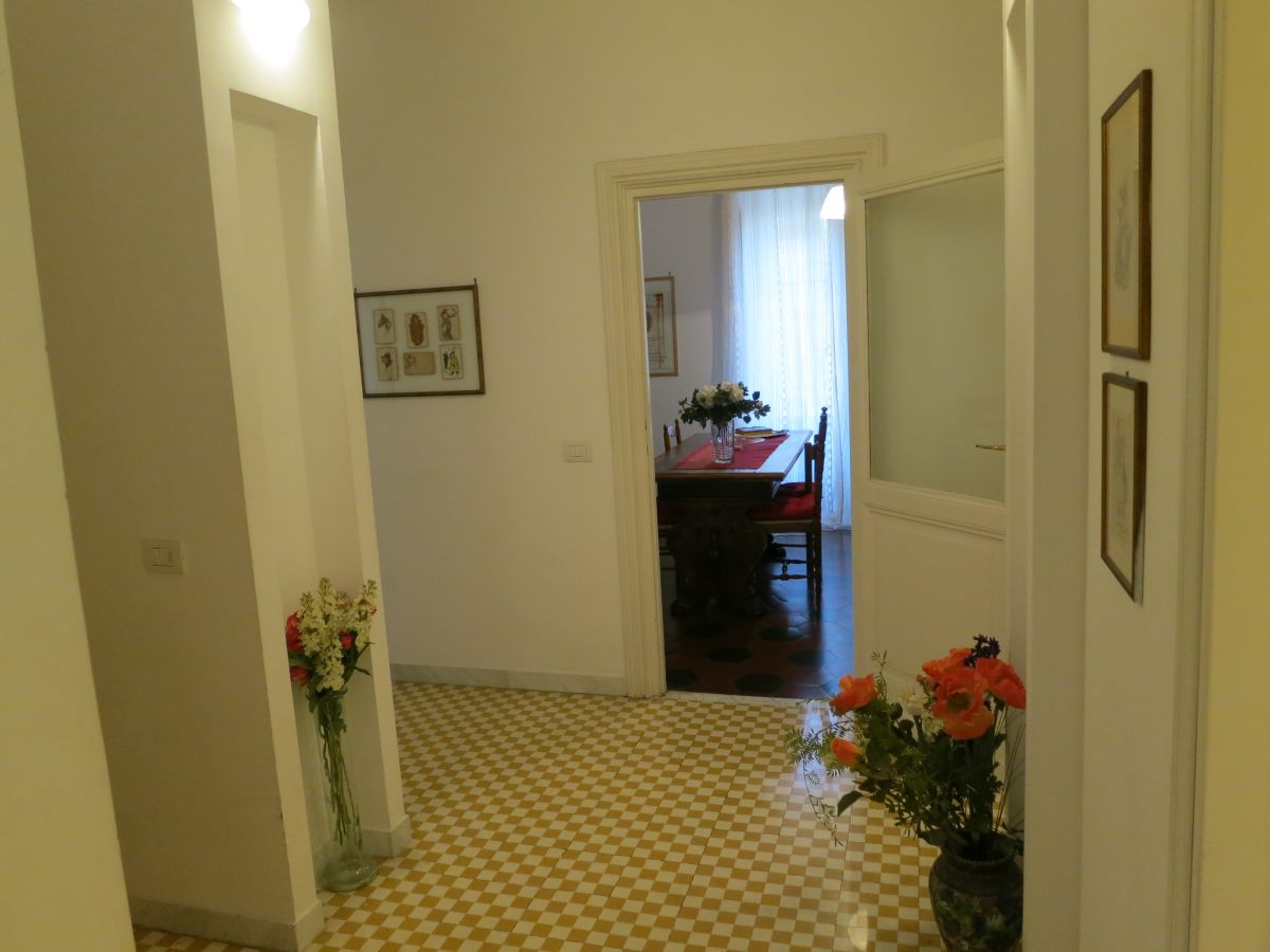 Appartement Vespasiano - Eingang